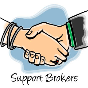 In the Driver's Seat - Support Brokers