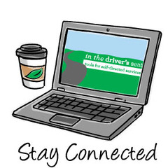 Stay Connected - In the Driver's Seat